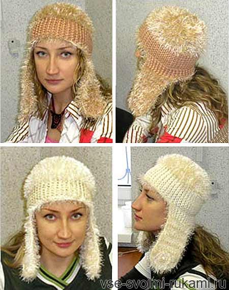 шапки с ушками