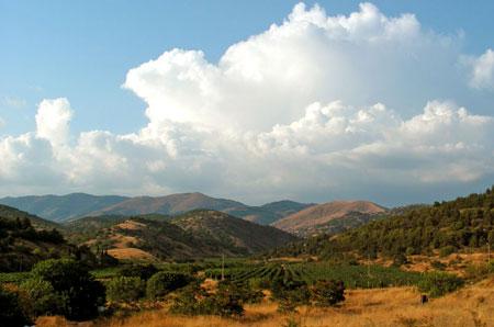 пейзаж горы фото