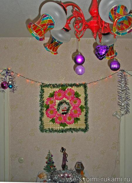 новогодний декор 2012 своими руками