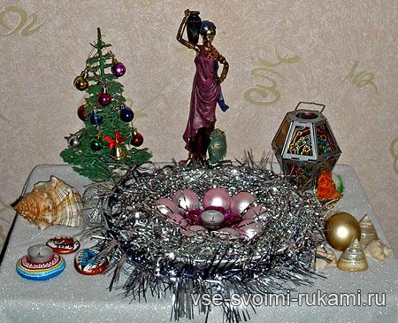 новогодний декор своими руками 2012