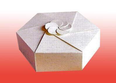 Как сделать коробку для подарка из картона