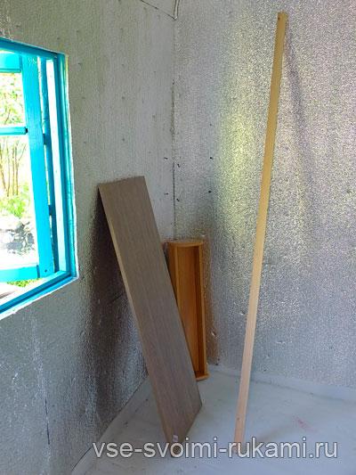 Рабочий стол с креплением к стене 2