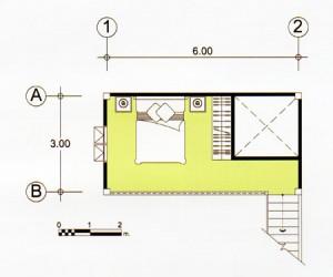 проект дома на сваях 2