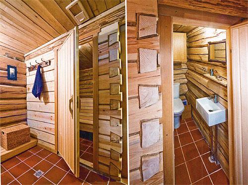 Проект деревянной бани из сруба 3
