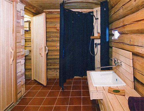 Проект деревянной бани из сруба 4