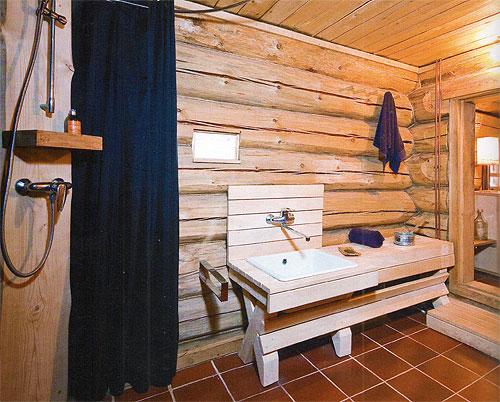 Проект деревянной бани из сруба 5