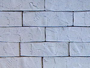 Фрагмент стены под кирпичную кладку