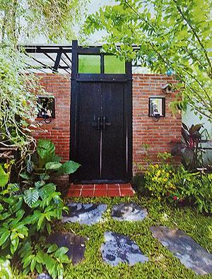Входные двери в сад