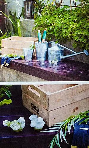 Садовые атрибуты - лейки, декор
