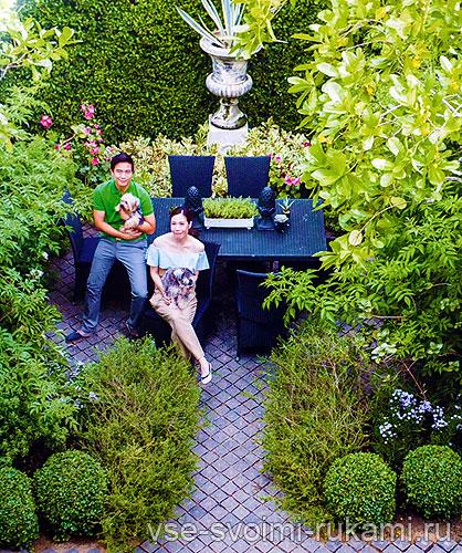 Сад в классическом стиле