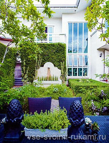 Красивый внутренний дворик